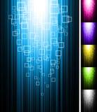 Ligne fond de verticale d'éclat Photos libres de droits