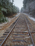 Ligne froide Photographie stock