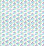 Ligne géométrique abstraite fond sans couture de modèle d'hexagone coloré illustration libre de droits