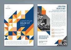 Ligne géométrique minimale abstraite fond pour le livre de rapport annuel d'affaires Image libre de droits