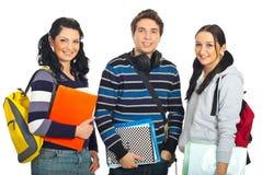Ligne gaie des étudiants Photo libre de droits