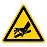 Ligne hydraulique signe de symbole, illustration de vecteur, isolat de piqûre de peau sur le label blanc de fond EPS10 illustration de vecteur