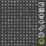 Ligne icônes pour des applications et des sites Web illustration stock