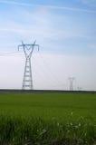 Ligne électrique Image stock