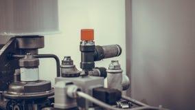 Ligne mécanique industrielle système de fabrication photographie stock libre de droits