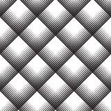 Ligne mince diagonale abstraite Art Pattern Le papier d'emballage vérifie T Photographie stock libre de droits