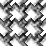 Ligne mince diagonale abstraite Art Pattern Le papier d'emballage vérifie T Photographie stock