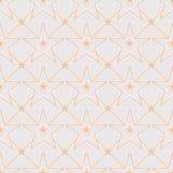 Ligne modèle sans couture d'étoile de symétrie illustration de vecteur