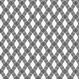 Ligne noire abstraite modèle sur le blanc, vecteur illustration libre de droits