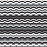 Ligne noire, blanche et argentée fond de chevron d'ombre illustration de vecteur