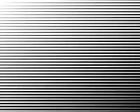 Ligne noire et blanche modèle tramé avec l'effet de gradient Rayures horizontales Illustration de vecteur illustration libre de droits