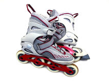 ligne patins Photo libre de droits