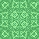 Ligne sans couture ornementale verte modèle illustration stock