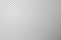 Ligne structure diagonale sur la surface en plastique blanche de mur, fond abstrait image stock
