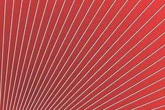 Ligne structure diagonale sur la surface en plastique rouge de mur, fond abstrait image libre de droits