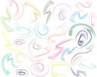 Ligne Swooshes Illustration Libre de Droits