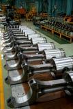 ligne train de moteur diesel de produit de pistons Photo stock