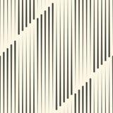 Ligne verticale sans couture modèle Fond de monochrome de vecteur GE Photographie stock libre de droits