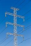 Lignes électriques électriques Images stock