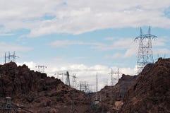 Lignes électriques 11 Photo libre de droits
