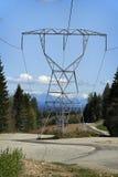 Lignes électriques Photographie stock libre de droits
