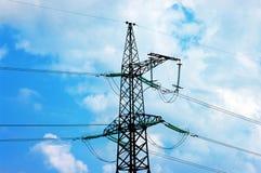 lignes électriques pouvoir Photographie stock