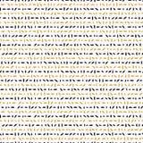 Lignes énigmatiques tirées de résumé jaune et noir illustration de vecteur