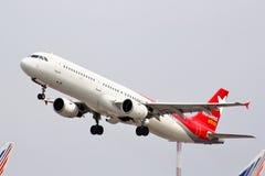 Lignes aériennes Airbus A321 de Nordwind Image libre de droits