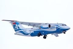 Lignes aériennes Antonov An-148 d'Angara Image libre de droits