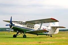 Lignes aériennes Antonov An-2 d'Oufa Images stock