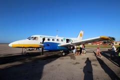 Lignes aériennes d'Aerocaribbean Images libres de droits