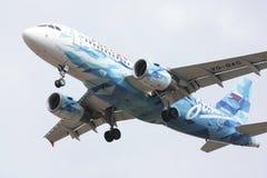 Lignes aériennes d'Airbus A319 Russie Images stock