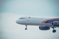 Lignes aériennes d'Angkor Images libres de droits