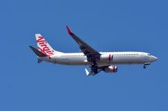 Lignes aériennes d'Australie de Vierge Photographie stock