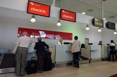 Lignes aériennes d'Australie de Vierge Photo libre de droits