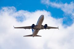 Lignes aériennes de Boeing 737-86N VQ-BIZ Yakutia photographie stock libre de droits