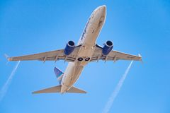 Lignes aériennes de Boeing 737-86N VQ-BIZ Yakutia photo stock