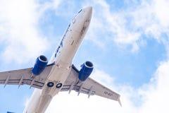 Lignes aériennes de Boeing 737-86N VQ-BIZ Yakutia images stock