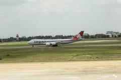 Lignes aériennes de Cargolux internationales Photos stock