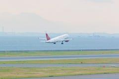Lignes aériennes de Juneyao dans l'aéroport international Japon de Chubu Centrair Images libres de droits