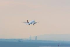 Lignes aériennes de Juneyao dans l'aéroport international Japon de Chubu Centrair Photographie stock libre de droits