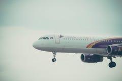 Lignes aériennes du Cambodge Photographie stock