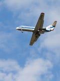 Lignes aériennes du passager Yak-40K Vologda Photo stock