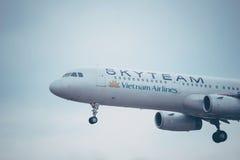 Lignes aériennes du Vietnam Skyteam Images libres de droits