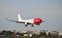 Lignes aériennes norvégiennes Photo stock
