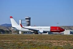 Lignes aériennes norvégiennes Photo libre de droits