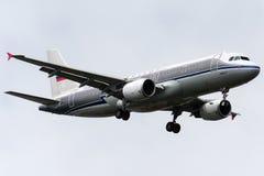 Lignes aériennes russes de VP-BNT Aeroflot, Airbus A320-214 rétro Image stock