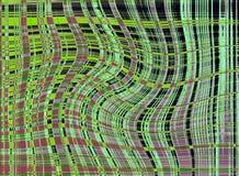 Lignes abrégées Image stock