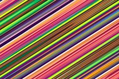 Lignes abstraites colorées pour le fond Photographie stock libre de droits