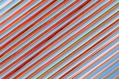 Lignes abstraites colorées pour le fond Images libres de droits
